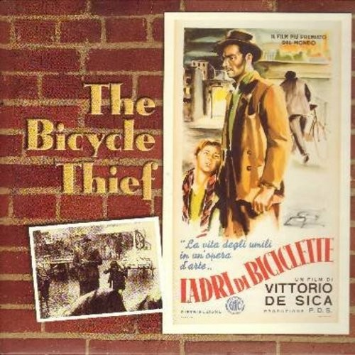 The Bicycle Thief - The Bicycle Thief - The 1948 Vittorio De Sica Classic, with English subtitles - This is a LASERDISC, NOT ANY OTHER KIND OF MEDIA! - NM9/NM9 - LaserDiscs