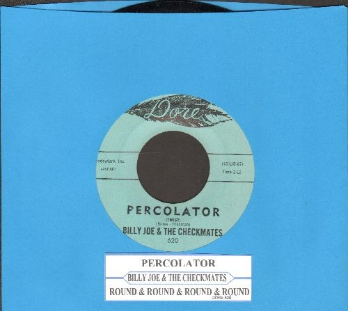 Billy Joe & The Checkmates - Percolator/Round & Round & Round - EX8/ - 45 rpm Records