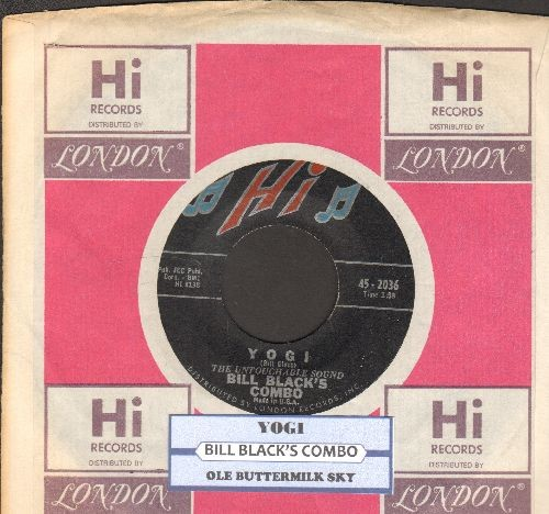 Black, Bill Combo - Yogi/Ole Buttermilk Sky (with juke box label and company sleeve) - NM9/ - 45 rpm Records