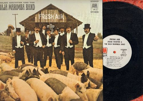 Baja Marimba Band - Fresh Air: Eleanor Rigby, The Windmills Of Your Mind, Cielito Lindo, I'll Marimba You (vinyl STEREO LP record, DJ advance pressing) - EX8/NM9 - LP Records