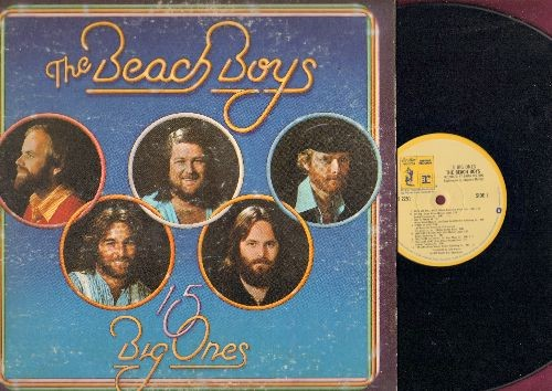 Beach Boys - 15 Big One's: Rock And Roll Music, Palisades Park, Blueberry Hill, Chapel Of Love, Talk To Me (Vinyl STEREO LP record, gate-fold cover) - NM9/VG7 - LP Records