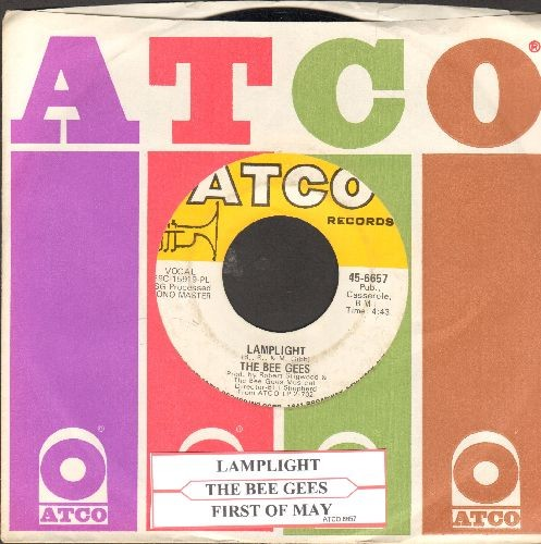 Bee Gees - Lamplight/First Of May (with juke box label and vintage Atco company sleeve) - EX8/ - 45 rpm Records