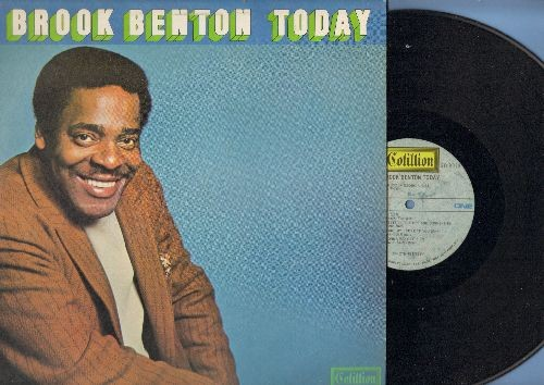 Benton, Brook - Brook Benton Today: My Way, Can't Take My Eyes Off You, A Little Bit Of Soap, I've Gotta Be Me (Vinyl STEREO LP record) - VG7/EX8 - LP Records