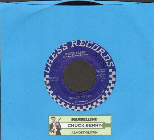 Berry, Chuck - Maybelline/Almost Grown (reissue with juke box label) - EX8/ - 45 rpm Records