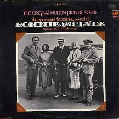 Strouse, Charles - Bonnie And Clyde: Music From The Motion Picture Score (Instrumental) - vinyl STEREO LP record - NM9/EX8 - LP Records