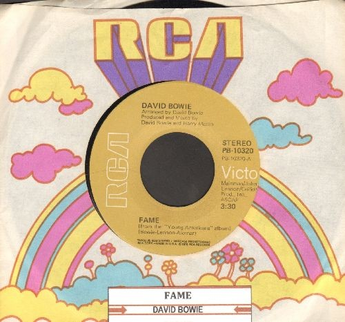 Bowie, David - Fame/Right (with RCA company sleeve and juke box label) - EX8/ - 45 rpm Records