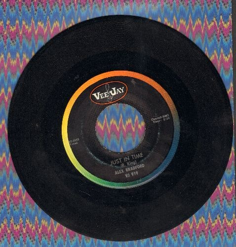 Bradford, Alex - One Step/Just In Time - NM9/ - 45 rpm Records