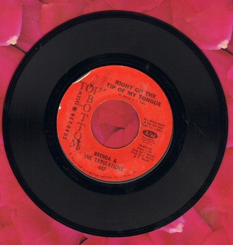Brenda & The Tabulations - Right On The Tip Of My Tongue/Always & Forever  - VG6/ - 45 rpm Records