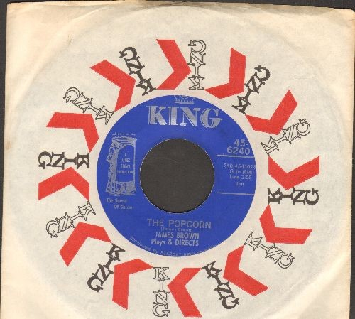 Brown, James - The Popcorn/The Chicken (with King company sleeve) - NM9/ - 45 rpm Records