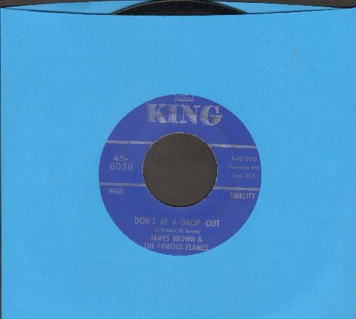 Brown, James & The Famous Flames - Don't Be A Drop-Out/Tell Me That You Love Me - EX8/ - 45 rpm Records