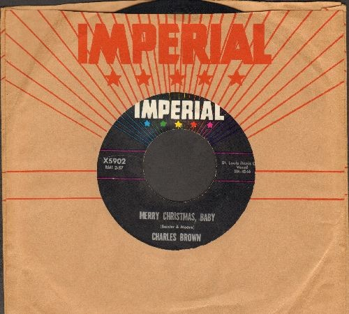 Brown, Charles - Merry Christmas Baby/I Lost Everything (with vintage Imperial company