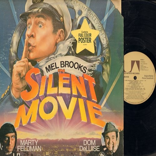 Silent Movie - Mel Brooks in Silent Movie - Original Motion Picture Sound Track (Vinyl STEREO LP record) - NM9/VG6 - LP Records