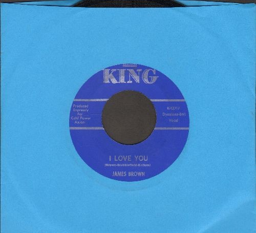 Brown, James & The Famous Flames - Maybe I'll Understand/I Love You - EX8/ - 45 rpm Records