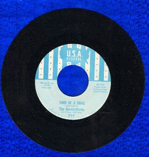 Buckinghams - Kind Of A Drag/You Make Me Feel So Good (NICE condition!) - EX8/ - 45 rpm Records