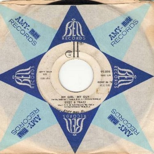 Buzz & Traci - My Girl/My Guy/Where's My Baby (with company sleeve) - VG7/ - 45 rpm Records