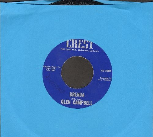 Campbell, Glen - Brenda/Turn Around Look At Me  - NM9/ - 45 rpm Records