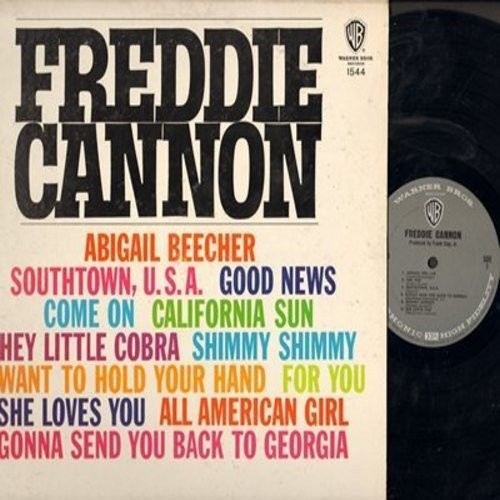 Cannon, Freddie - Freddie Cannon: She Loves You, California Sun, Shimmy Shimmy, Hey Little Cobra (Vinyl MONO LP record) - M10/EX8 - LP Records
