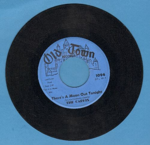 Capris - There's A Moon Out Tonight/Indian Girl (blue label) - VG7/ - 45 rpm Records