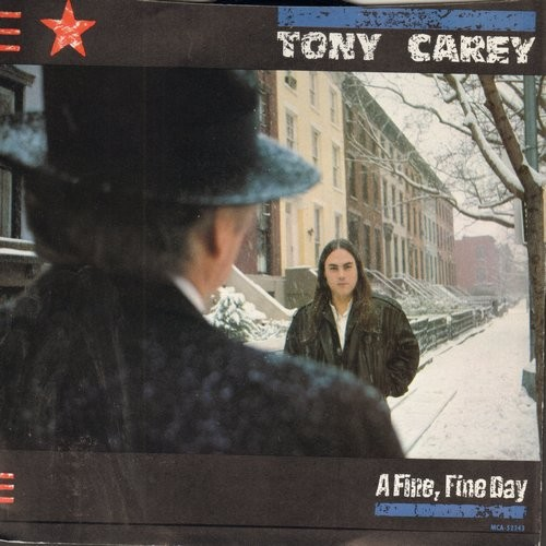 Carey, Tony - A Fie Fine Day/Say It's All Over (with picture sleeve) - NM9/EX8 - 45 rpm Records
