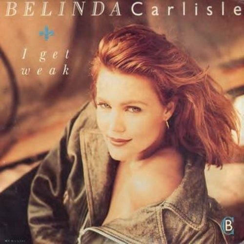Carlisle, Belinda - I Get Weak/Should I Let You In? (with picture sleeve) - NM9/EX8 - 45 rpm Records