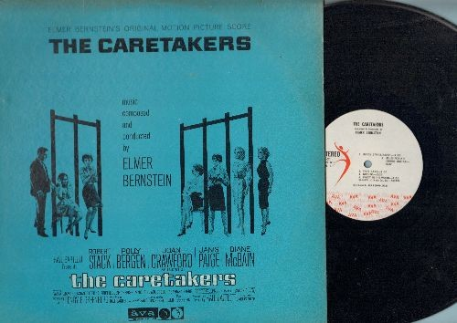 Bernstein, Elmer - The Caretakers - Original Motion Picture Score, music composed and conducted by Elmer Bernstein (Vinyl STEREO LP record) - NM9/VG7 - LP Records