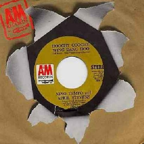 Tempo, Nino & April Stevens - Hoochy Coochy Wing Dang Doo/Love Story (with A&M company sleeve) - M10/ - 45 rpm Records