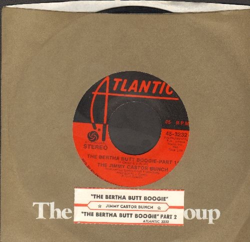 Castor, Jimmy Bunch - The Bertha Butt Boogie (Parts 1+2) (with juke box label and Atlantic company sleeve) - EX8/ - 45 rpm Records