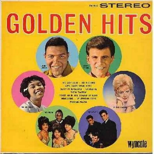 Checker, Chubby, Dee Dee Sharp, Bobby Rydell, Orlons, Dovells, Jo Ann Campbell - Golden Hits: Slow Twistin', Mother Please, Wildwood Days, Do The Bird, We Got Love, Let's Limbo Some More, Rock Me In The Cradle Of Love (Vinyl STEREO LP record) - NM9/EX8 -