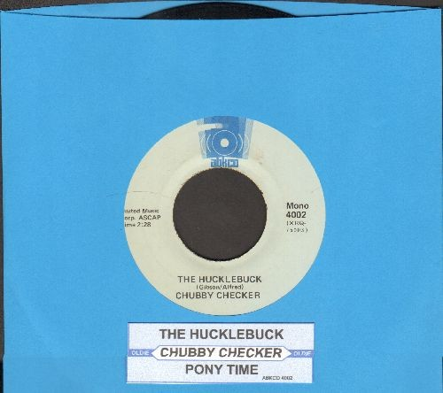 Checker, Chubby - The Hucklebuck/Pony Time (double-hit re-issue with juke box label) - VG7/ - 45 rpm Records