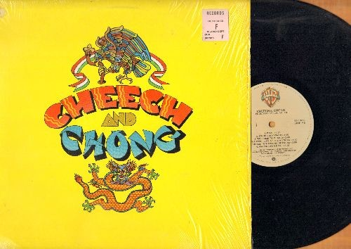 Cheech & Cong - Cheech And Chong: Dave, Emergency Ward, Trippin' In Court, Blind Melon Chitlin', more! (vinyl LP record) - NM9/NM9 - LP Records