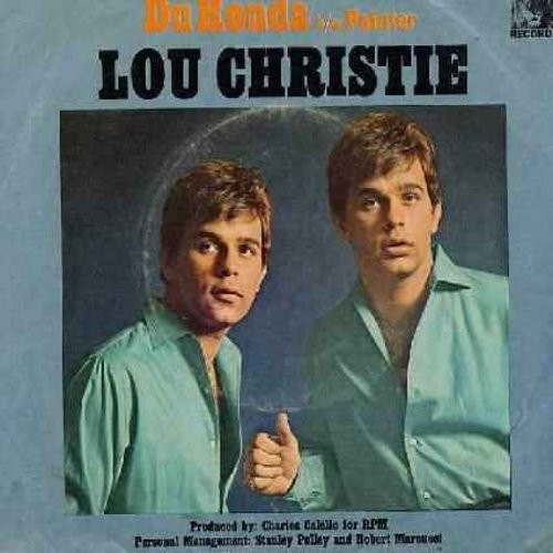 Christie, Lou - Painter/Du Ronda (with picture sleeve) - NM9/VG7 - 45 rpm Records