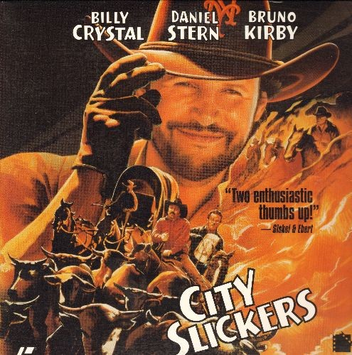 City Slickers - City Slickers - LASERDISC version of the Classic Billy Crystal Comedy featuring Oscar Winning performance by Jack Palence (This is a LASERDISC, not any other kind of media!) - NM9/NM9 - LaserDiscs