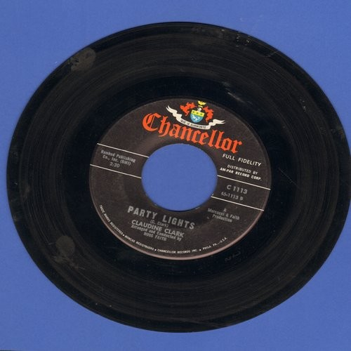 Clark, Claudine - Party Lights/Disappointed  - VG7/ - 45 rpm Records
