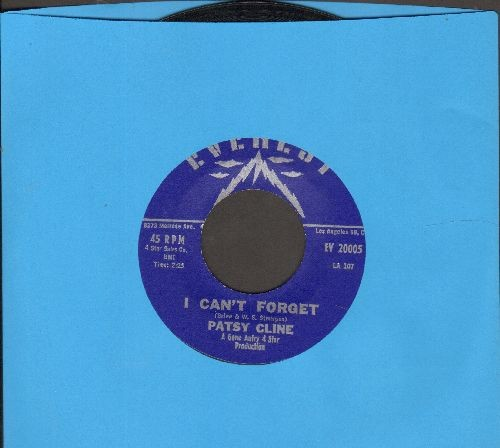 Cline, Patsy - I Don't Wanta/I Can't Forget - NM9/ - 45 rpm Records