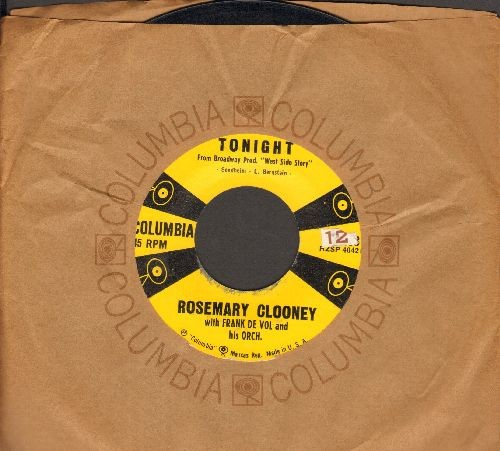 Clooney, Rosemary - Tonight/Love And And Affection (with Columbia company sleeve) - EX8/ - 45 rpm Records
