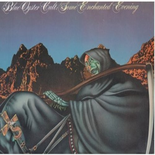 Blue Oyster Cult - Some Enchanted Evening: R.U. Ready To Rock, E. T. 1 (Extra Terrestrial Intelligence), (Don't Fear) The Reaper, Godzilla, We Gotta Get Out Of This Place (Vinyl STEREO LP record) - EX8/VG6 - LP Records