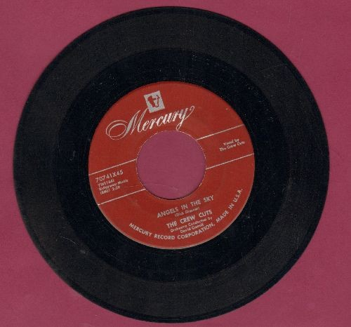 Crew-Cuts - Mostly Martha/Angels In The Sky (burgundy label early pressing) - EX8/ - 45 rpm Records