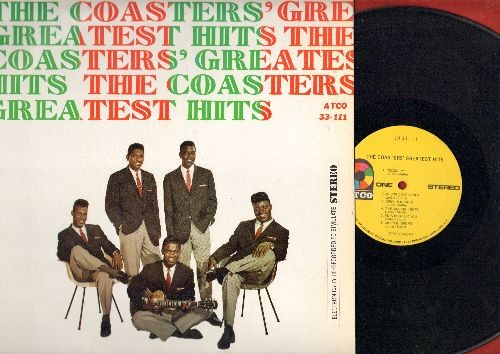 Coasters - The Coasters' Greatest Hits: Poison Ivy, Charlie Brown, Yakety Yak, Searchin', Sweet Georgia Brown (Vinyl STEREO LP record) - NM9/EX8 - LP Records