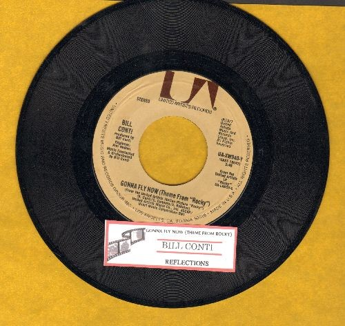 Conti, Bill - Gonna Fly Now (Theme From Rocky)/Reflections (with juke box label) - EX8/ - 45 rpm Records