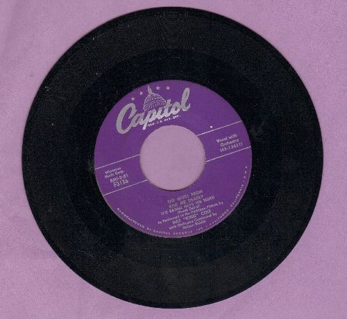 Cole, Nat King - The Blues  From Kiss Me Deadly (I'd Rather Have The Blues)/My One Sin - NM9/ - 45 rpm Records