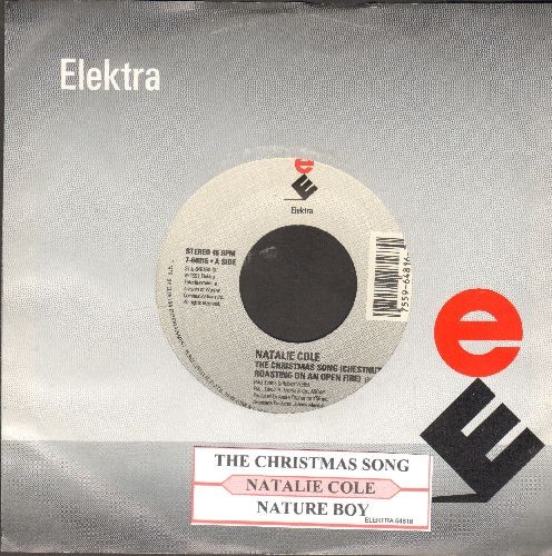 Cole, Natalie - The Christmas Song/Nature Boy (with juke box label and Elektra company sleeve) - M10/ - 45 rpm Records
