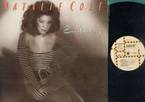 Cole, Natalie - Everlasting: When I Fall In Love, Pink Cadillac, I'm The One, Jump Start (Vinyl STEREO LP record) - M10/NM9 - LP Records