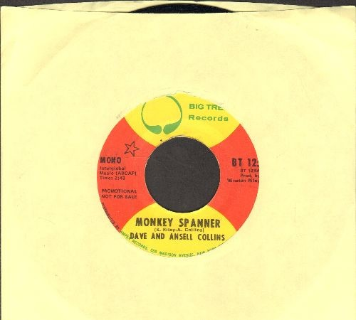 Collins, Dave And Ansell - Monkey Spanner/Monkey Spanner Version Two - EX8/ - 45 rpm Records