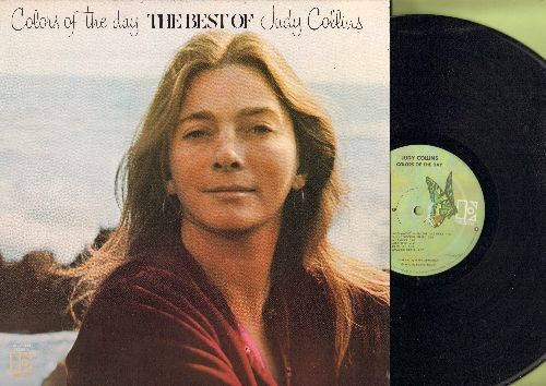 Collins, Judy - Colors Of The Day - The Best Of: Both Sides Now, Albatros, In My Life, Amazing Grace, Someday Soon (Vinyl STEREO LP record) - NM9/EX8 - LP Records