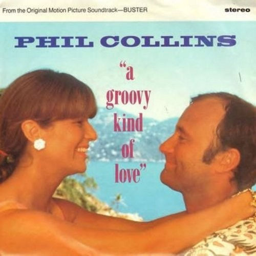 Collins, Phil - A Groovy Kind Of Love/Big Noise (with picture sleeve) - EX8/VG7 - 45 rpm Records