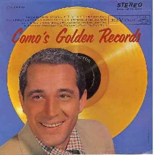 Como, Perry - Como's Golden Records: Temptation, Papa Loves Mambo, Wanted, Round And Round, Magic Moments, Hot Diggity (Vinyl STEREO LP record, 1958 first issue) - NM9/VG6 - LP Records