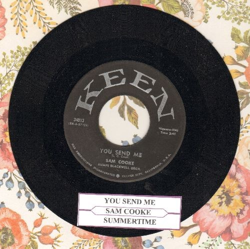 Cooke, Sam - You Send Me/Summertime (first pressing with juke box label) - NM9/ - 45 rpm Records