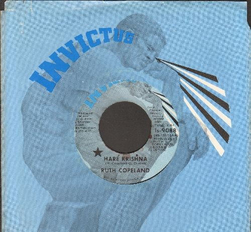 Copeland, Ruth - Hare Krishna/No Commitment (with Invictus company sleeve) - NM9/ - 45 rpm Records