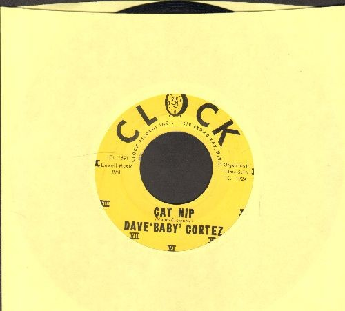 Cortez, Dave Baby - Cat Nip/Talk Is Cheap (with RARE vintage Clock company sleeve) - NM9/ - 45 rpm Records
