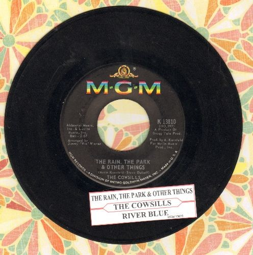 Cowsills - The Rain, The Park & Other Things (I Knew She Could Make Me Happy)/River Blue (with juke box label) - EX8/ - 45 rpm Records